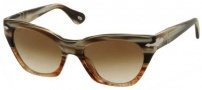 Persol PO 2998S Sunglasses Sunglasses - 940/51 Horn Striped Brown Crystal / Brown Gradient