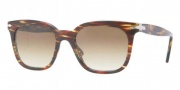 Persol PO2999S Sunglasses Sunglasses - 480/83 Honey Havana / Crystal Polarized Green Gradient Photo