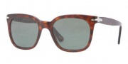 Persol PO2999S Sunglasses Sunglasses - 938/51 Green Striped Brown Crystal / Brown Gradient 