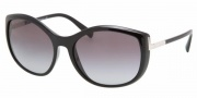 Prada PR 09NS Sunglasses Sunglasses - BF75P1 Soya Gradient Durmast Brown / Gradient Pink