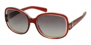 Prada PR 17NS Sunglasses Sunglasses - CAF3M1 Bordeaux-Red / Gray Gradient