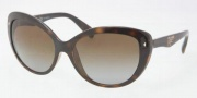Prada PR 21NS Sunglasses Sunglasses - 2AU6S1 Havana / Brown Gradient