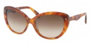 Prada PR 21NS Sunglasses Sunglasses - GAC1Z1 Opal Pink / Brown Gradient