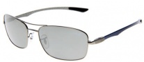 Ray-Ban RB8309 Sunglasses Sunglasses - 004/6G Gunmetal Silver Mirror