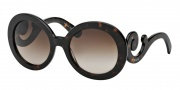 Prada PR 27NS Sunglasses Sunglasses - 2AU6S1 Havana/ Brown Gradient
