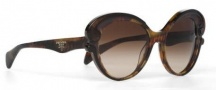 Prada PR 28NS Sunglasses Sunglasses - 2AU6S1 Havana / Brown Gradient