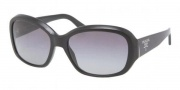 Prada PR 31NS Sunglasses Sunglasses - 1AB3M1 Gloss Black / Gray Gradient