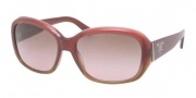 Prada PR 31NS Sunglasses Sunglasses - EAE5P1 Bordeaux Gradient Brown / Brown Gradient Pink