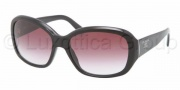 Prada PR 31NS Sunglasses Sunglasses - 1AB4V1 Black Violet Gradient