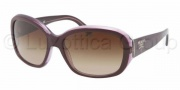 Prada PR 31NS Sunglasses Sunglasses - IAY6S1 Top Violet / Violet Transp Brown Gradient