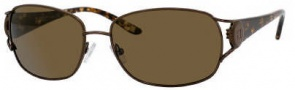 Liz Claiborne 539/S Sunglasses Sunglasses - Q4GP (VW Brown Polarized Lens)
