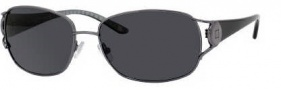Liz Claiborne 539/S Sunglasses Sunglasses - CVlP Dark Ruthenium (RA Gray Polarized Lens)