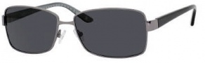 Liz Claiborne 540/S Sunglasses Sunglasses - CVLP Dark Ruthenium (RA Gray Polarized Lens)