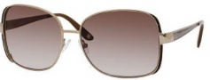 Liz Claiborne 541/S Sunglasses Sunglasses - OFG1 Almond Brown (Y6 Brown Gradient Lens)