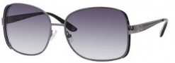 Liz Claiborne 541/S Sunglasses Sunglasses - OCVL Dark Ruthenium (Y7 Gray Gradient Lens)