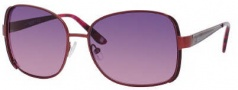 Liz Claiborne 541/S Sunglasses Sunglasses - OEZ1 Satin Bordeaux (RP Plum Gradient Lens)
