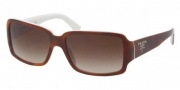 Prada PR 32NS Sunglasses Sunglasses - ACN6S1 Top Havana-Ivory / Brown Gradient