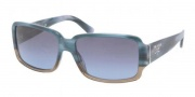 Prada PR 32NS Sunglasses Sunglasses - ZYZ5I1 Tortoise Azure / Blue Gray Gradient