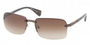 Prada PR 61NS Sunglasses Sunglasses - ACD6S1 Brown Demi Shiny / Brown Gradient
