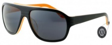 Black Flys Sunglasses Fly Boozer  Sunglasses - Black / Orange