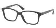 Prada PR 01OV Eyeglasses Eyeglasses - 1AB1O1 Gloss Black