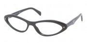 Prada PR08OV Eyeglasses Eyeglasses - 1AB1O1 Gloss Black