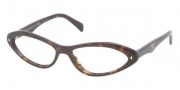 Prada PR08OV Eyeglasses Eyeglasses - 2AU1O1 Havana