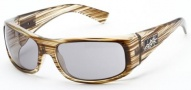 Black Flys Sunglasses Deflyant Sunglasses - Shiny Dark Olive Wood 