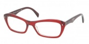 Prada PR 16NV Eyeglasses Eyeglasses - CAF1O1 Ruby Gradient