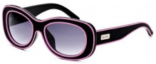 Black Flys Sunglasses Breakfast At Flys  Sunglasses - Matte Black / Pink Piping