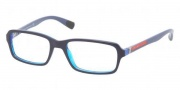 Prada Sport PS 01CV Eyeglasses Eyeglasses - CAQ1O1 Ocean Blue