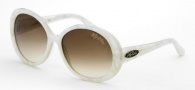 Black Flys Sunglasses Shiny Fly  Sunglasses - Pearl White
