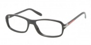Prada Sport PS 05BV Eyeglasses Eyeglasses - 1AB1O1 Black