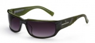 Black Flys Sunglasses Flyndie 500 Sunglasses - Grey / Green
