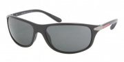Prada Sport PS 05MS Sunglasses Sunglasses - 1AB1A1 Black / Gray