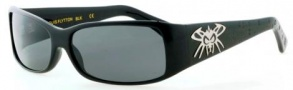 Black Flys Sunglasses Louis Flytton Sunglasses - Shiny  Black