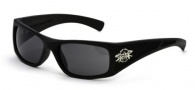 Black Flys Sunglasses Luger Fly Sunglasses - Matte Black Polarized