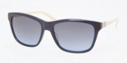 Tory Burch  TY7031 Sunglasses Sunglasses - 937 / 17 Navy Cream / Grey Blue Gradient