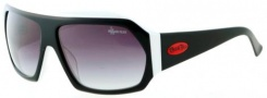 Black Flys Fly Tacos Sunglasses  Sunglasses - Black / White
