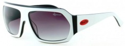 Black Flys Fly Tacos Sunglasses  Sunglasses - White / Black