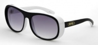 Black Flys Fly Zoom Sunglasses  Sunglasses - Black / White 