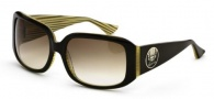 Black Flys Deluxe Fly Sunglasses Sunglasses - Brown / Yellow Stripe