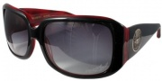 Black Flys Deluxe Fly Sunglasses Sunglasses - Black / Red Horn