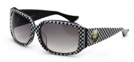 Black Flys Deluxe Fly Sunglasses Sunglasses - Black / White Checker