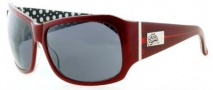 Black Flys Fly End Sunglasses Sunglasses - Burgundy / Dots