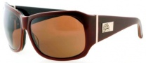 Black Flys Fly End Sunglasses Sunglasses - Brown