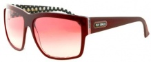 Black Flys Free Flying Sunglasses Sunglasses - Shiny Burgundy / Dots