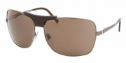 Bvlgari BV5019Q Sunglasses Sunglasses - 138/73 Brown / Brown