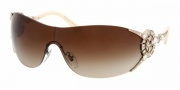 Bvlgari BV6039B Sunglasses Sunglasses - 278/13 Pale Gold / Brown Gradient