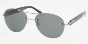 Bvlgari BV6051 Sunglasses Sunglasses - 102/8G Palladium / Gray Gradient